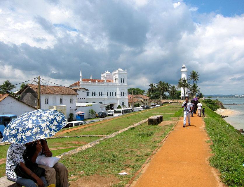 Galle Church sightseeing Sri Lanka