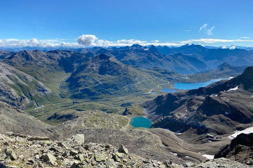 Bernina Pass, Wanderung Diavolezza Bergstation