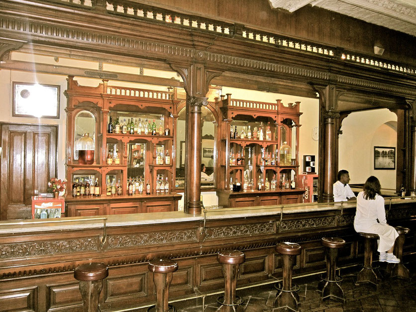 Old Queen's Pub Royal Lounge Bar in Kandy Sri Lanka