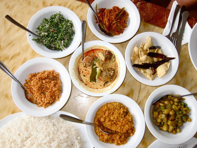 Sr Lanka Rice & Curry, Rest House Peradeniya