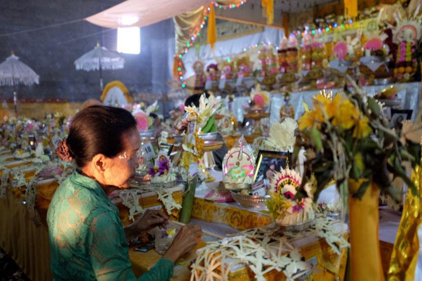 Munduk Bali Zeremonie