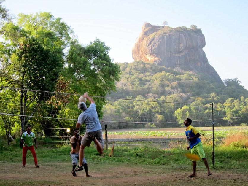 Sigiriya Wewa Lion's Rock Löwenfelsen Sri Lanka