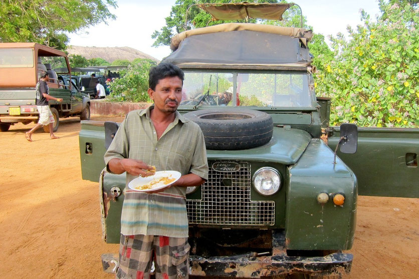 jeep driver Yala Nationalpark Sri Lanka
