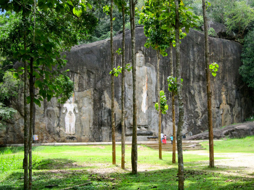 Buduruwagala cultural sights Sri Lanka