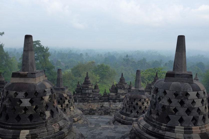 schönster Tempel Java Borobudur tour tipp Yogyakarta