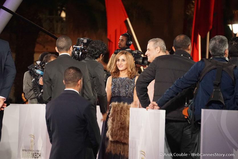 L'arrivée des invités sur le red carpet - Festival de Marrakech - Décembre 2016 - Photo © Anik Couble