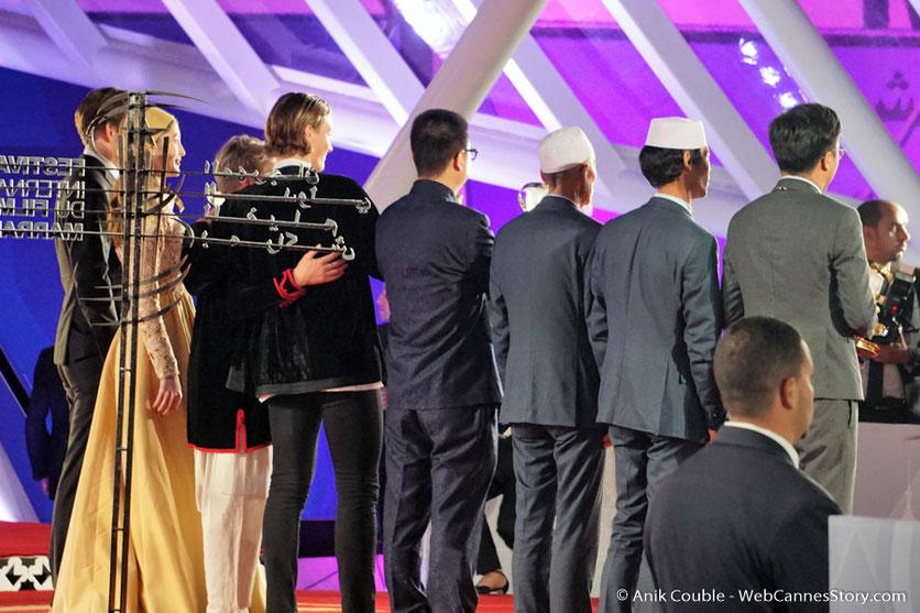 Tous les lauréats du Festival de Marrakech - Décembre 2016 - Photo © Anik Couble