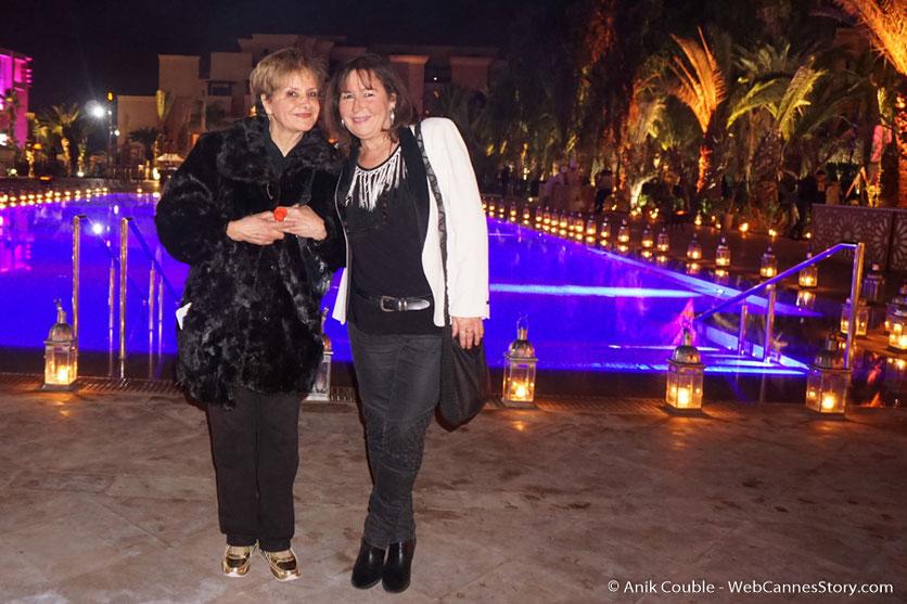 Soirée de clôture à  l'Hôtel Mövenpick, en compagnie de Fati - Festival de  Marrakech - Décembre 2016 - Photo © Anik Couble