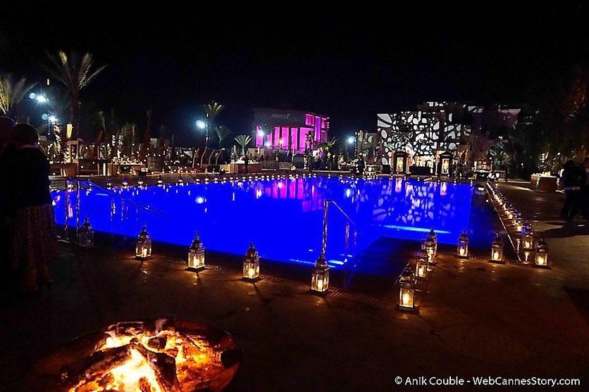 Soirée de clôture à  l'Hôtel Movenpick  - Festival de  Marrakech - Décembre 2016 - Photo © Anik Couble
