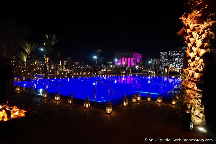 Soirée de clôture à l'Hôtel Mövenpick - Festival de  Marrakech - Décembre 2016 - Photo © Anik Couble