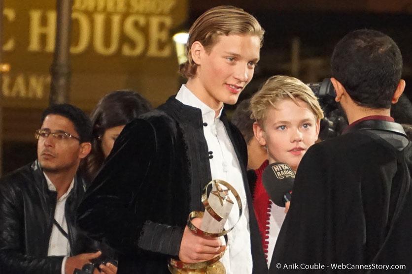 Blaer Hinriksson et Baldur Einarsson, Prix d'interprétation masculine (ex-aequo) - Festival de  Marrakech - Décembre 2016 - Photo © Anik Couble
