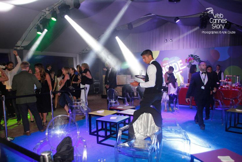"""Soirée du film """" Vice-Versa """" de Pete Docter et Ronnie del Carmen -Plage du Carlton - Festival de Cannes 2015 - Photo © Anik COUBLE"""