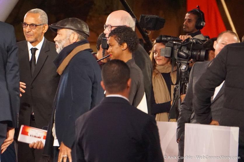 Arrivée d'Abderrahmane Sissako sur le red carpet - Festival de Marrakech - Décembre 2016 - Photo © Anik Couble