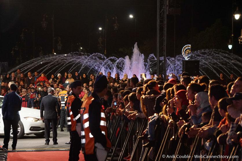 Le public marocain venu nombreux - Festival de Marrakech - Décembre 2016 - Photo © Anik Couble