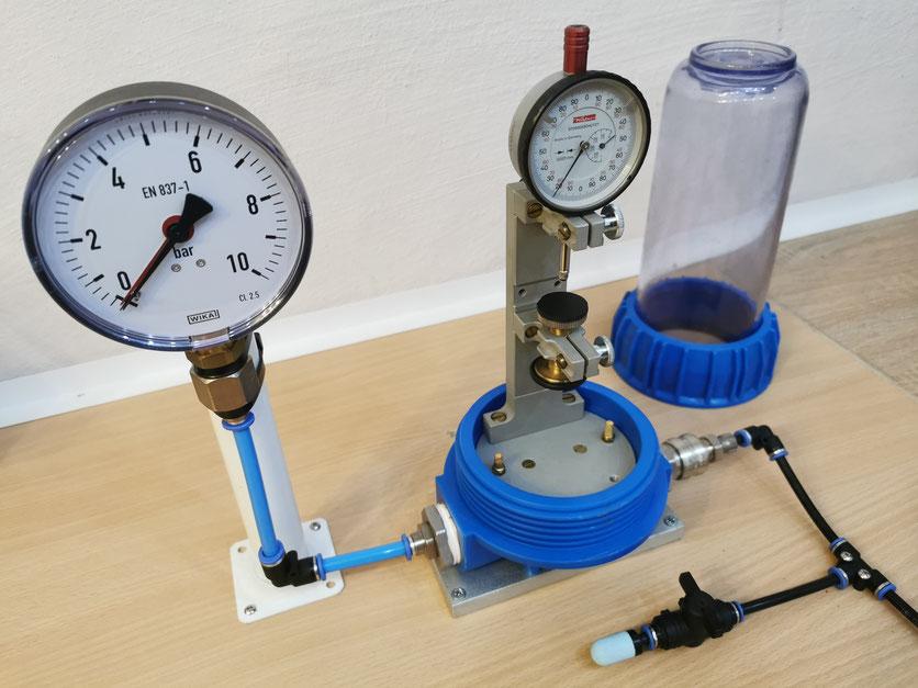 Wasserdichtheitsprüfgerät