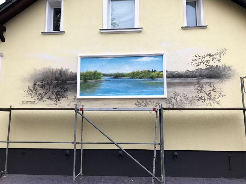 Wandmotiv Fassadenkunst