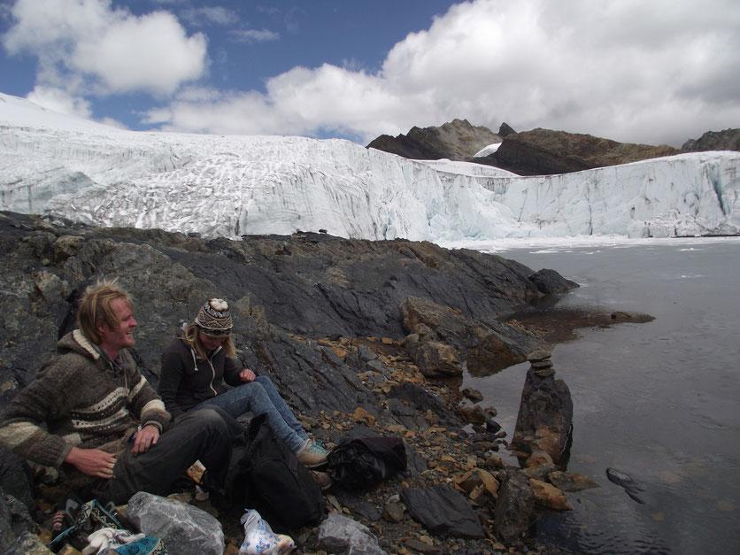 Nevado Pastoruri, Huaraz, Central Peru.