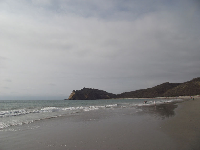 Los Frailes beach Ecuador