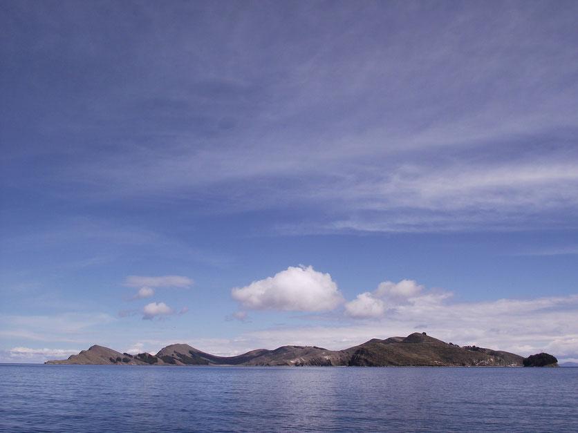 The Isla del Sol.