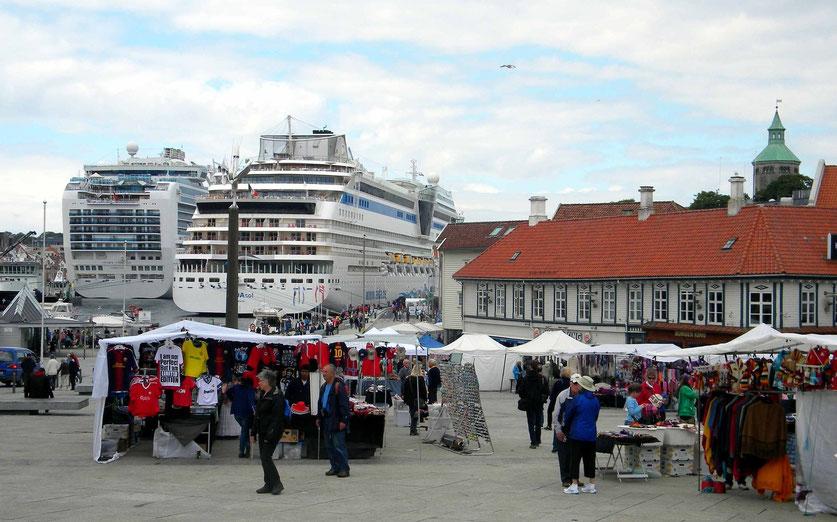 Liegeplatz im Zentrum von Stavanger