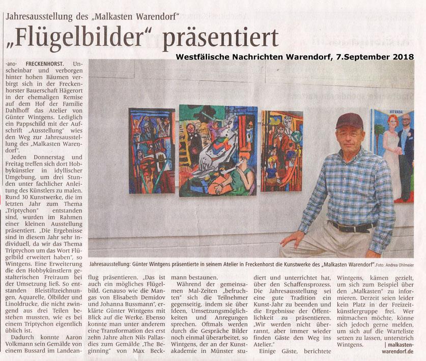 Malen und zeichnen lernen für Kinder, Jugendliche und Erwachsene in Warendorf, Malkasten Warendorf