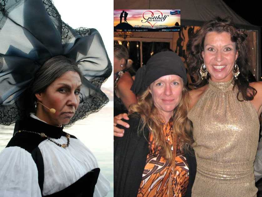 VORHER : Ammännin  /  NACHHER : Feier mit meiner Premierenkleid-Designerin Alexandra Pfister vom Label ASANDRI www.asandri.com