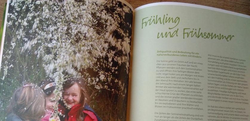 Wildes Naturhandwerk im Frühling und Frühsommer