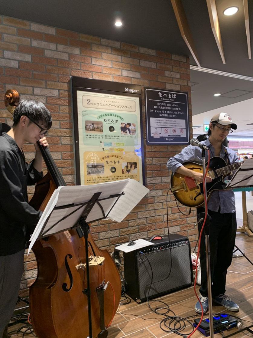 猪野駿、ジャズギター、ニュースクール大学