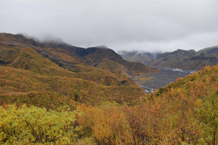 "Langidalur, þórsmörk, Valahnúkur - ""panorama trail"" hiking"