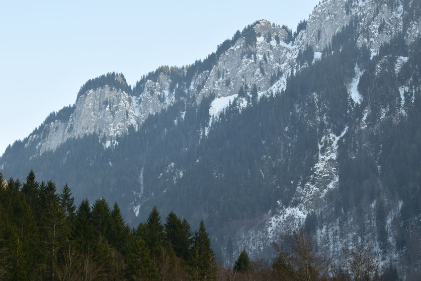 mountains Chatel, France