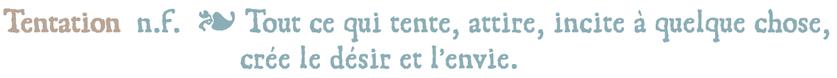 """Définition de la collection """"Tentation"""" de Nara Porcelaine"""