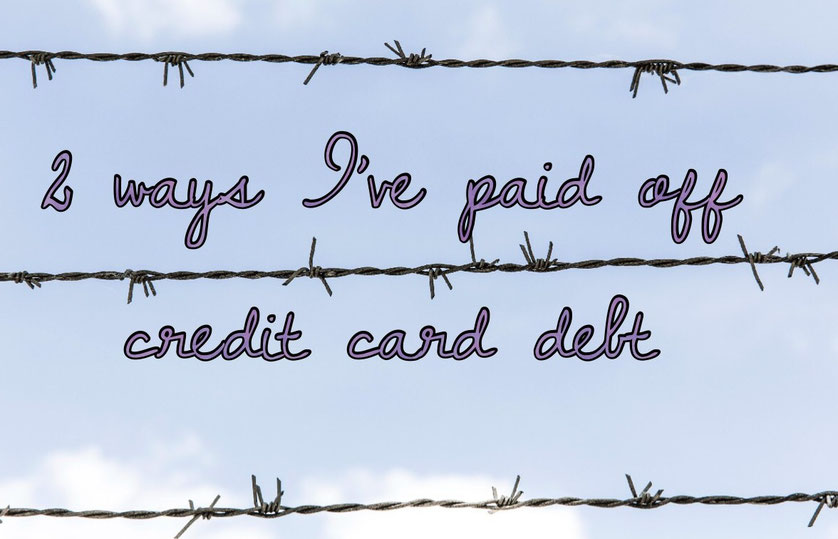 pay off debt, credit card debt, pay off credit card debt, get out of debt, stop spending,