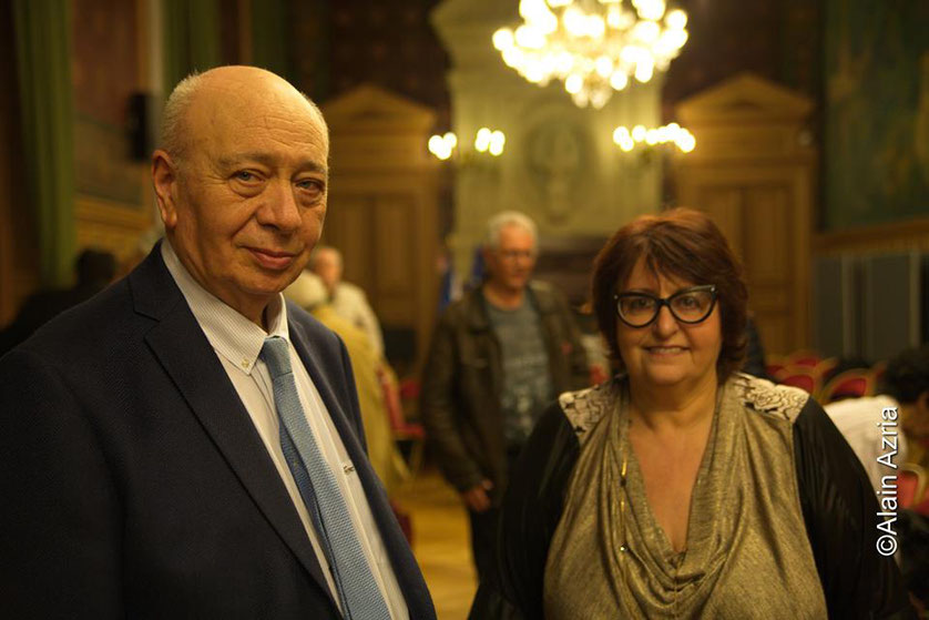 Claude Nataf et Annie-Paule Derczansky