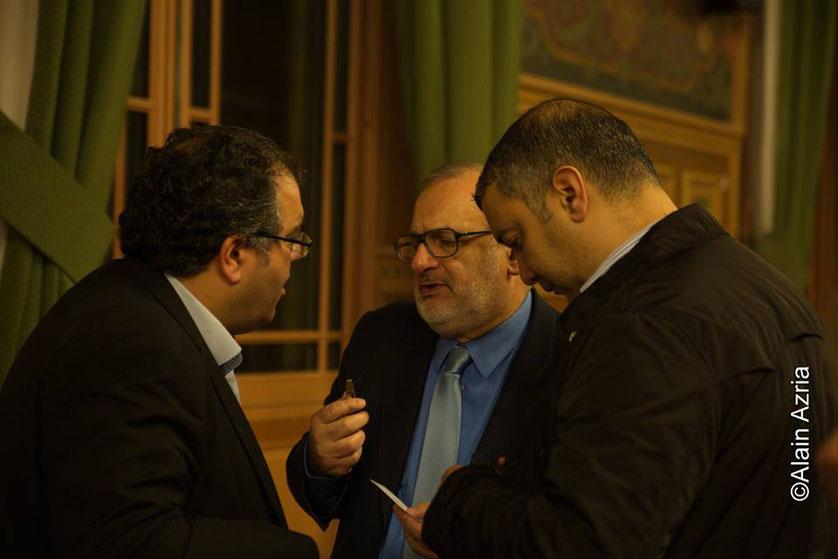 Mahor Chiche et Serge Benhaim