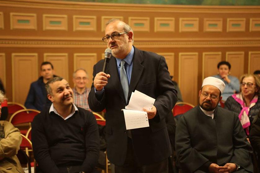 Intervention de Serge BENHAIM Président de la Roquette Paris 11ème
