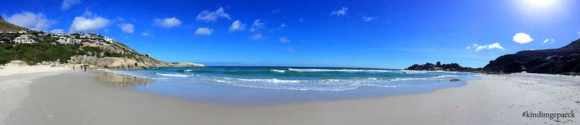 Traumhafter Strand - unglaubliche Stille: der Strand von Llandudno.