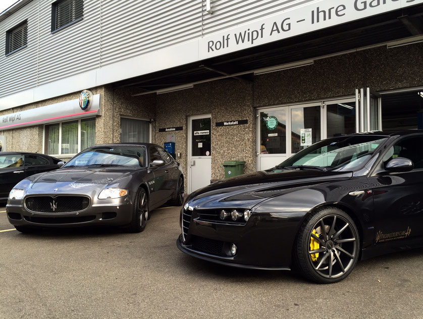 Maserati Quattroporte Executive GT & Alfa Romeo 159 3.2 V6 with exclusive Wheels