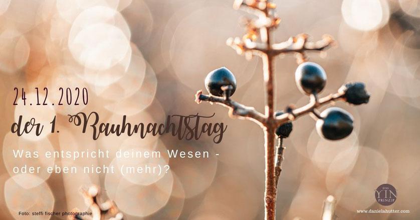 Rauhnächte Weihnachten Steinbock Mondjahr Meditation Zeitqualität 24.12.