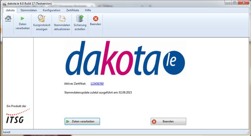 Startbildschirm von dakota.le