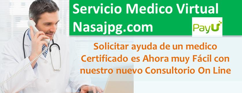 Consulta Medica Virtual, Consulta Medica Nasajpg.com, Consulta a Un medico por Internet, Consultorio Medico Virtual