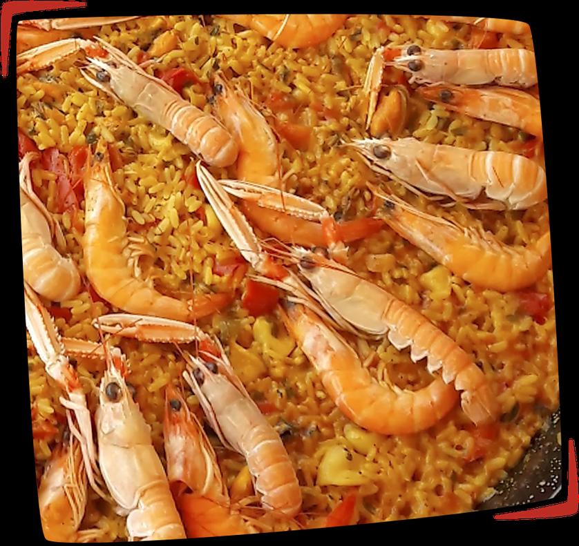 Paella marinera façon Tapas Locas