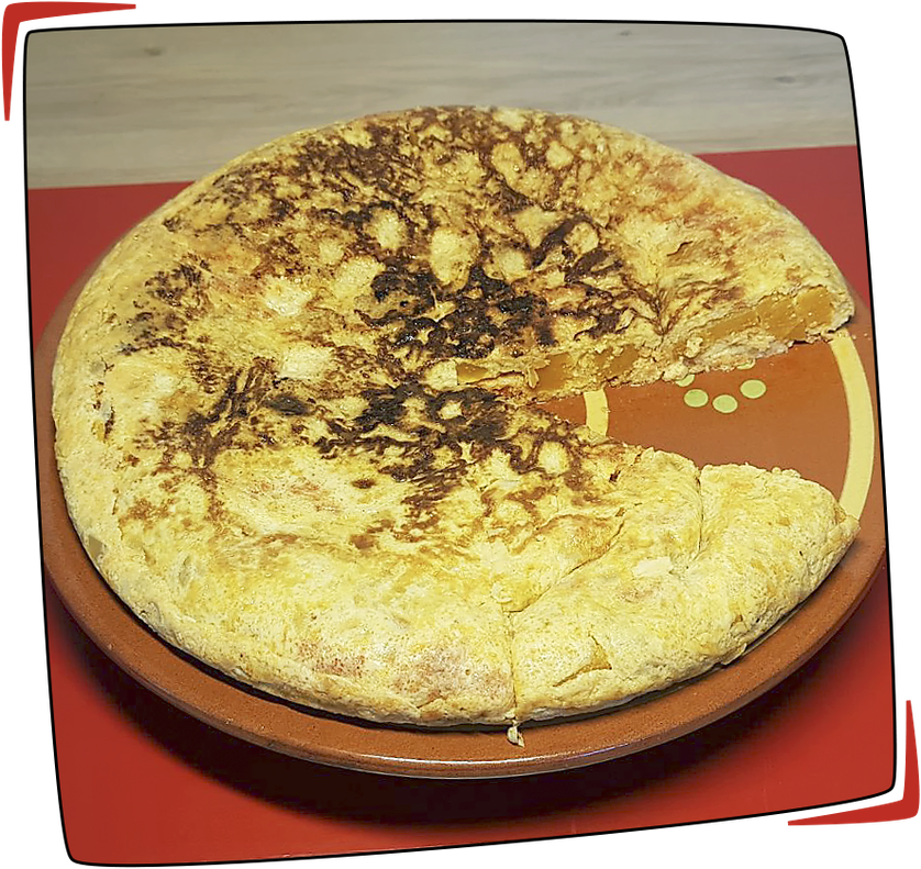 Tortilla de butternut y sobrasada façon Tapas Locas