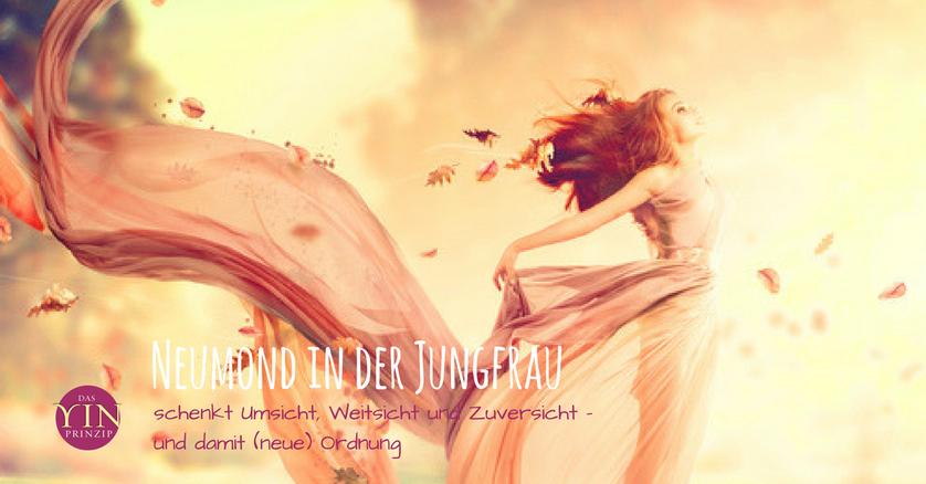 Neumond in der Jungfrau, Spagat, Spiritualität, Alltag