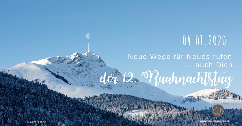 Rauhnächte Weihnachten Rauhnachtszeit Daniela Hutter Mondmonat Neumond Schütze Neujahr 2017