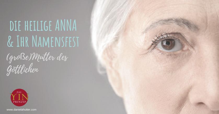 Das Namensfest der Anna. Die Bedeutung des Namens Anna.