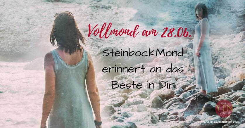 Daniela Hutter bloggt zu den ZeitQualitäten und zum Yin-Prinzip. Aktuell über Vollmond im Steinbock am 28.06.2018