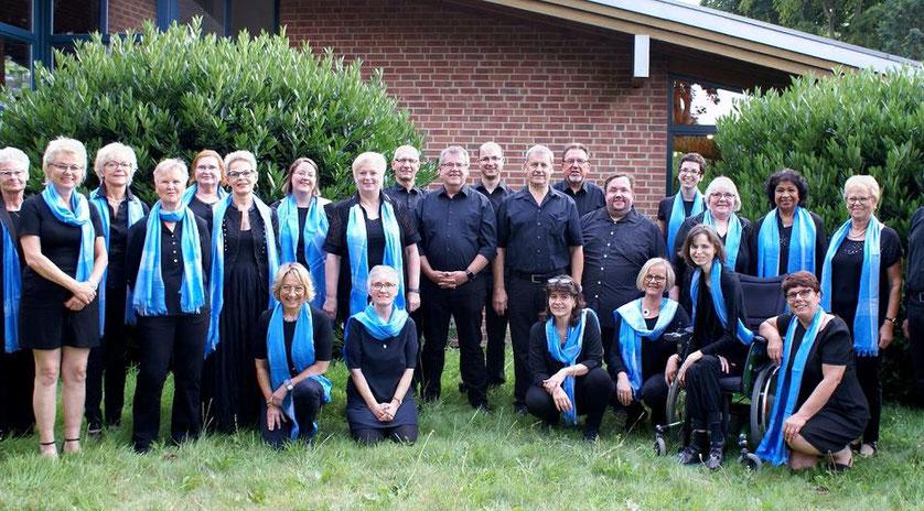 """Der Chor """"GospelVoices"""" aus Holzweiler wird ein abwechslungsreiches Programm mit klassischem und modernem Gospel bieten. Foto: Wilfried Cremer"""