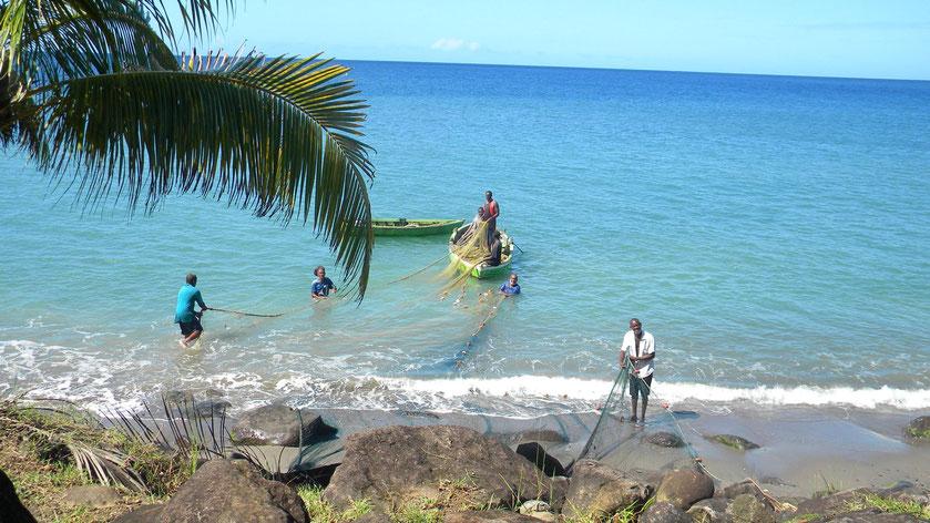 Fischfang auf Grenada