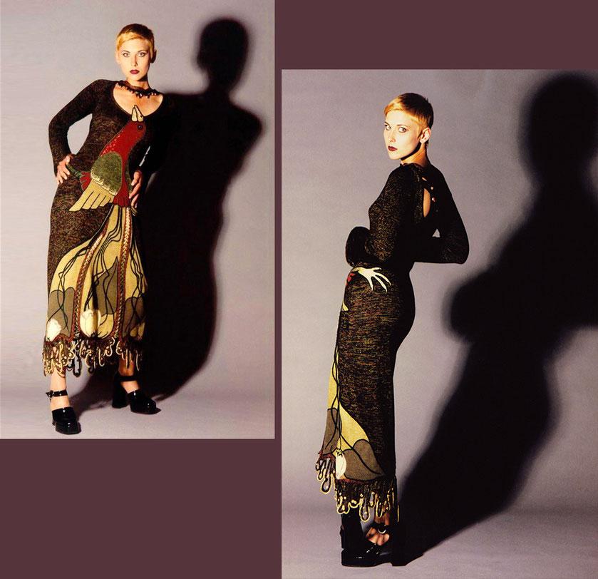 Alexander Seraphim's knitwear, 1998