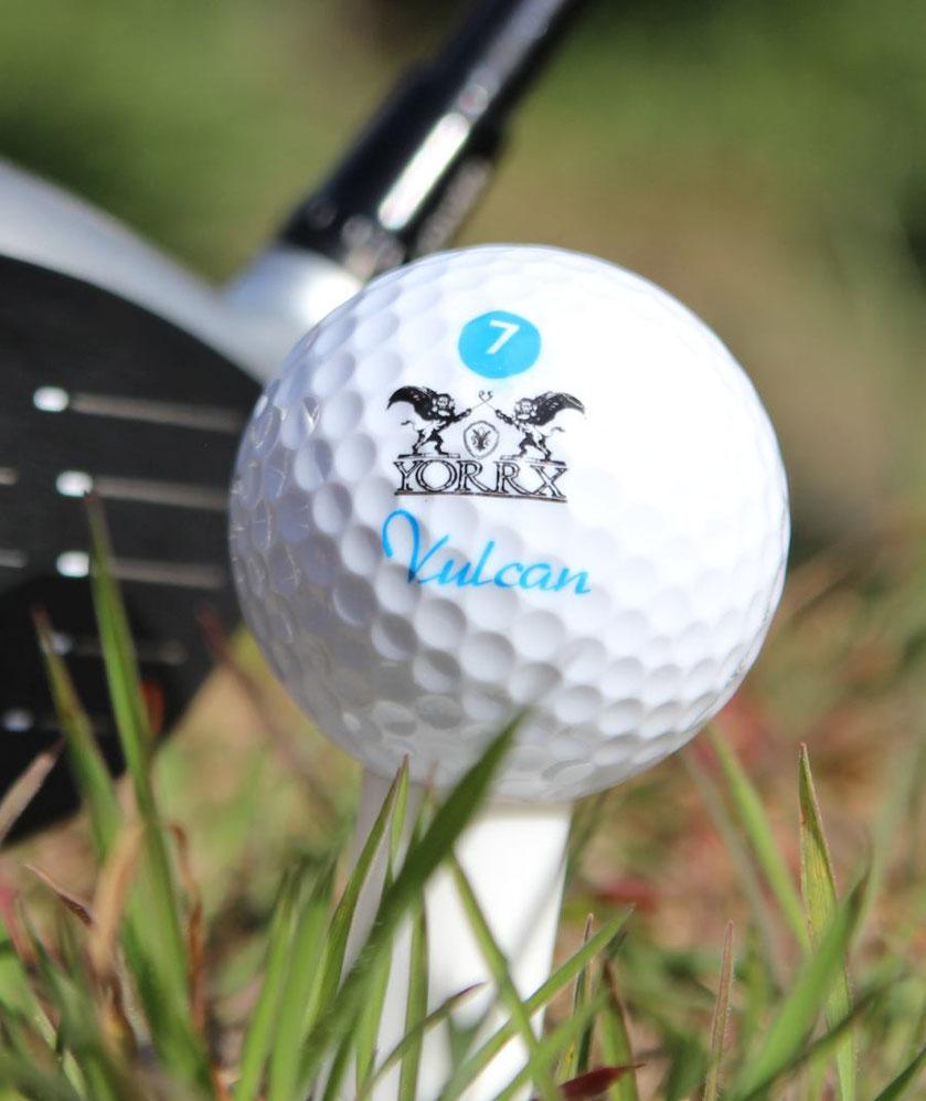 Bild: Yorrx Vulcan 7 Golfball (3-piece Technology)